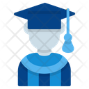Graduated Student School Icon