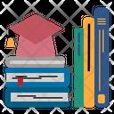 Graduated Hat Book Icon