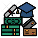 Graduated Hat Certificate Icon