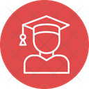 Boy Hat Student Icon