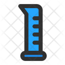 Graduated Cylinder Experiment Research Icon
