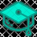 University Student Graduation Icon