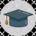 Graduation Bachelors Cap Icon