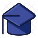 Gown Hat Graduate Icon