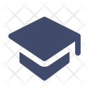 Graduation Hat Degree Icon