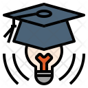Graduation Genius Brave Icon