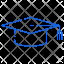 Graduation Convocation Cap Icon