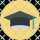 Graduation Cap Academy Icon