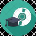 Graduation Education Cap Icon