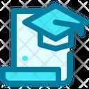 Graduation Diploma Degree Icon