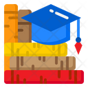 Graduation Degree Book Icon