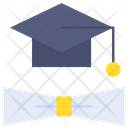 Graduation Degree Education Icon