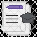 Graduation Bachelor Graduation Cap Icon