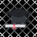 Graduation Degree Graduate Icon
