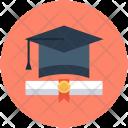 Graduation Degree Diploma Icon
