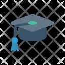 Graduation Cap Hat Icon