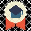 Graduation Badge Icon