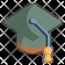 Graduation Cap Education Mortarboard Icon