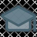 Mortarboard College Graduate Icon