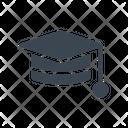 Hat Degree Graduation Icon