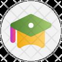 Education Graduation Cap Icon