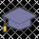 Graduation Cap School Icon