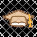 Student Graduation Cap Icon