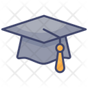 Graduate School Graduation Icon
