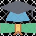 Graduation Cap Mortarboard Icon