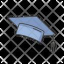 Graduate Graduation Cap Icon