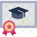 Graduation Degree Icon