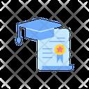 Graduation Diploma Icon
