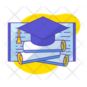 Graduation Document Icon