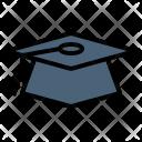 Mortboard Graduation Cap Icon