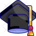 Graduation Toga Achievement Icon