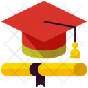 Graduation Education Degree Icon