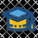 Graduation Hat Graduation Cap Icon