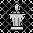 Graduation Speech Icon