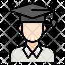 Student Education Man Icon