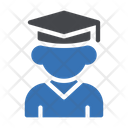 Student Graduation Degree Icon