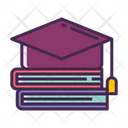 Ieducation Graduation Study Books Icon