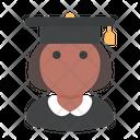 Student School Woman Icon