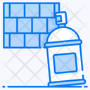 Graffiti Spray Paint Paint Overspray Icon