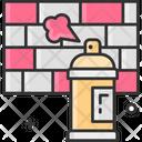Graffiti Color Spray Graffiti Icon