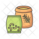 Grain Dry Pasta Icon