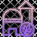 Grain Silo Icon