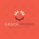 Grain Trademark Grain Insignia Grain Logo Icon