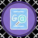 Grammar Checker Find Icon