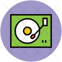 Gramophone Phonograph Record Icon