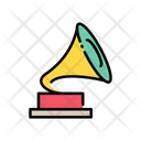 Audio Gramophone Music Instrument Icon